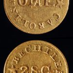 Bechtler One dollar gold coin, obverse and reverse, ca. 1835