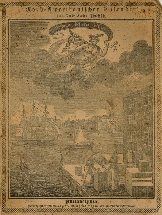 German-American Almanac, 1840