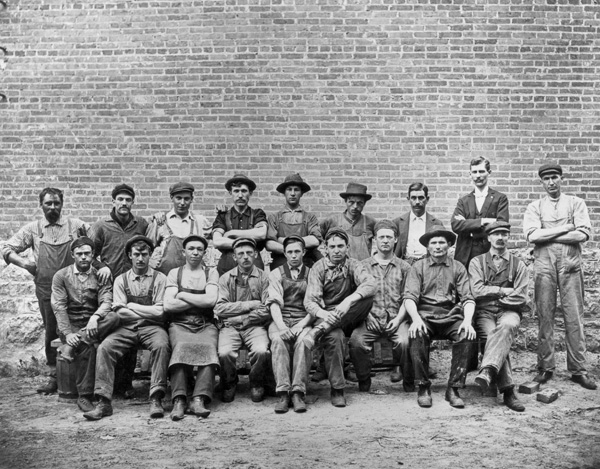 Hormel employees, 1896
