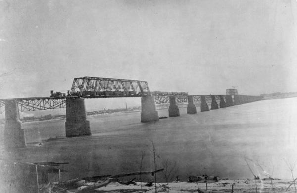 Ohio River Bridge, Louisville, KY