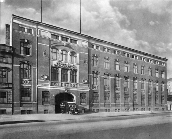 Headquarters of Schering AG in Wedding, ca. 1938
