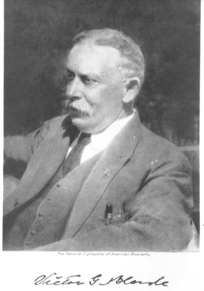 Portrait of Victor Gustav Bloede, ca. 1900