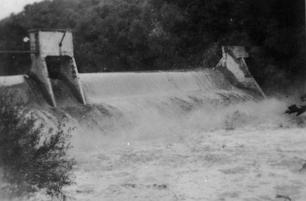 Bloede's Dam on the Patapsco River near Ilchester, MD, ca. 1907