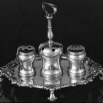 George Christian Gebelein, silver inkstand, ca. 1930