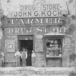 Farmer's Drug Store, ca 1892