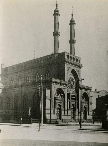 Bene Yeshurun Temple, ca. 1880