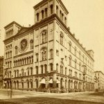 Third Street Masonic Temple, ca. 1860
