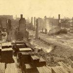 Aftermath of 1882 Fire in Cincinnati
