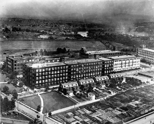The Berkshire Knitting Mills Complex, 1925