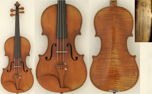 "August Gemünder & Sons ""Excelsior"" Violin, ca. 1890s"