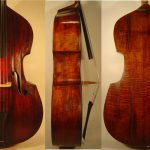 Double bass crafted by August Martin Ludwig Gemunder,  ca. 1858