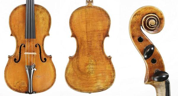 August Gemünder violin dated 1885