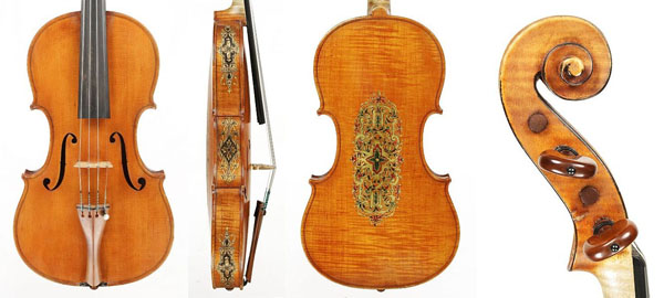 George Gemünder violin dated 1879