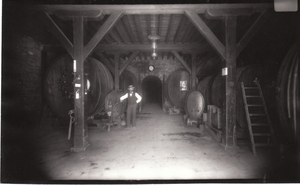 Barrel Room at Beringer Winery