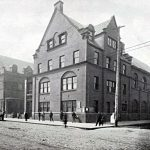 Coffee House and Gymnasium Building, Hull House, ca. 1902