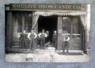 Goelitz Brothers Candy Shop, n.d.