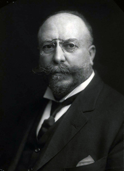 Jacob Hasslacher Portrait