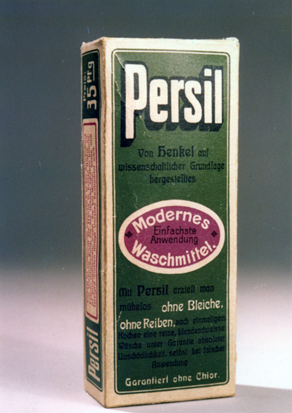 Package of Persil detergent, 1907