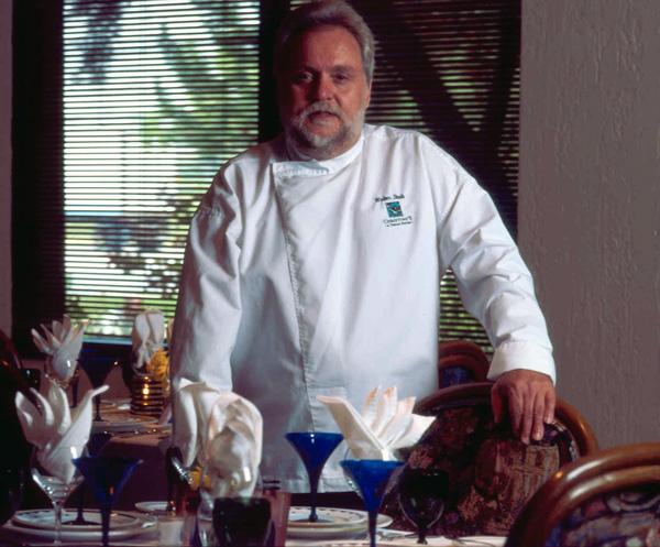 Walter Staib at Christino's, Atlanta, GA, 1997