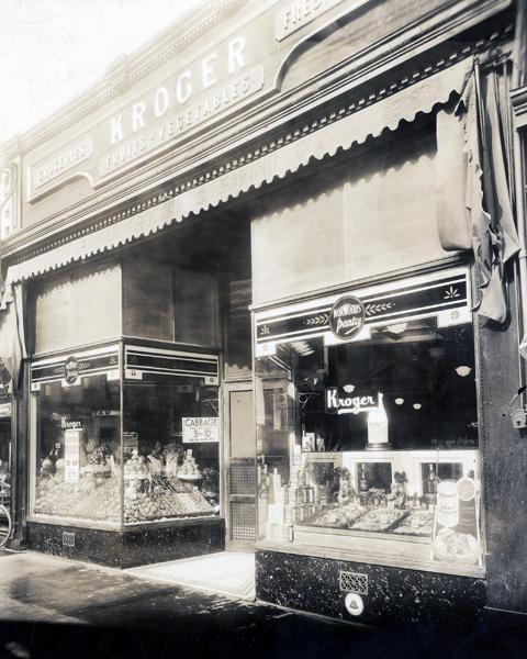 Early Kroger storefront