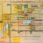 Fontana steel plant plan, overhead view