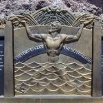 Monument at Hoover Dam to the workers killed during its construction