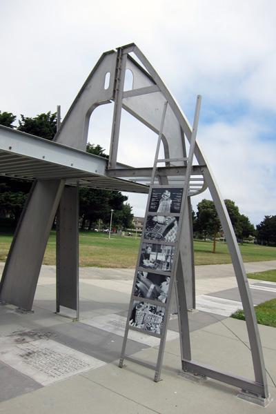 Rosie the Riveter monument, Richmond, California