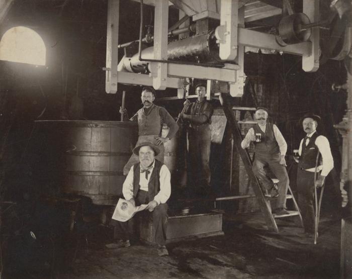 Santa Clara Brewery, ca 1895