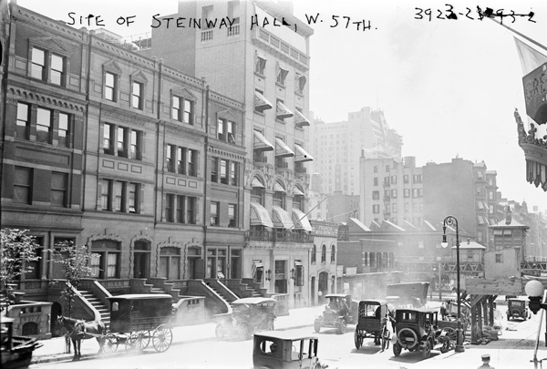 Site of Steinway Hall, W. 57th