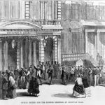 Buying tickets for the Dickens readings at Steinway Hall