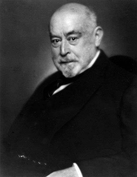 Carl Fürstenberg Portrait