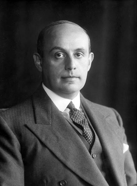 Hans Fürstenberg Portrait