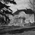 Exterior of Otto Jeidels' home, built 1922