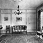 Interior of Otto Jeidels' home, built 1922