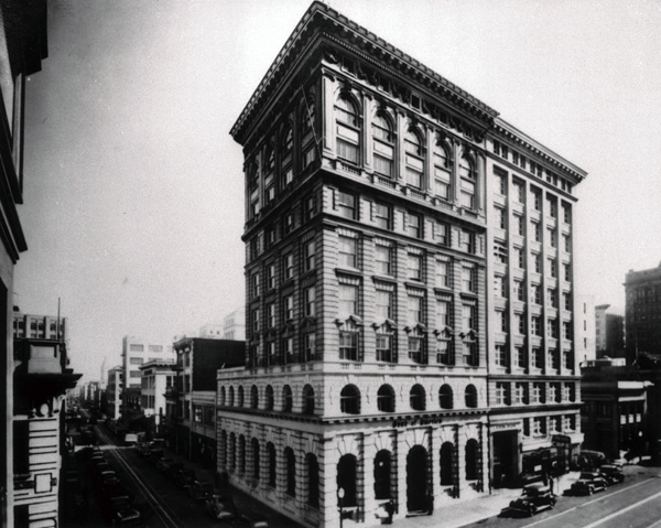 Bank of America headquarters, San Francisco, 1939