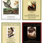 Audubon Cellars wine series labels