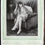 Postcard advertising Bemberg stockings, late 1920s