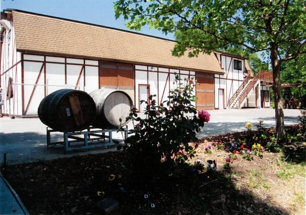 Hopper Creek winery, main building