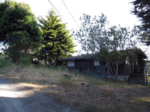 Dieter Tede's cabin in Bolinas