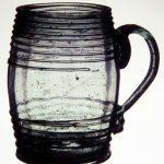 Mug made by Caspar Wistar, Wistarburgh Glassworks, 1739-1777, Salem County, NJ