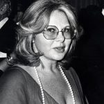 Sue Mengers at the Metropolitan Museum of Art in New York City, NY, 1976