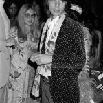 "Mick Jagger with Sue Mengers at a stage production of ""The Rocky Horror Show,"" March 1974"