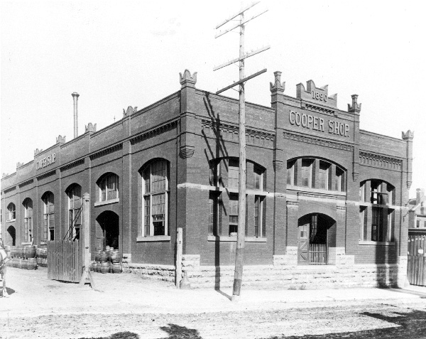 The Anheuser-Busch Brewing Association Cooper Shop, ca. late 1890s