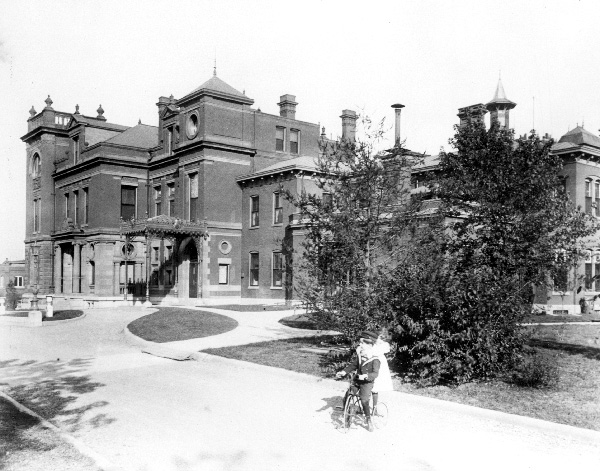 Number One Busch Place, ca. late 1890s