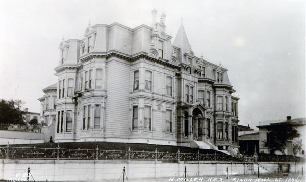 Henry Miller's San Francisco mansion