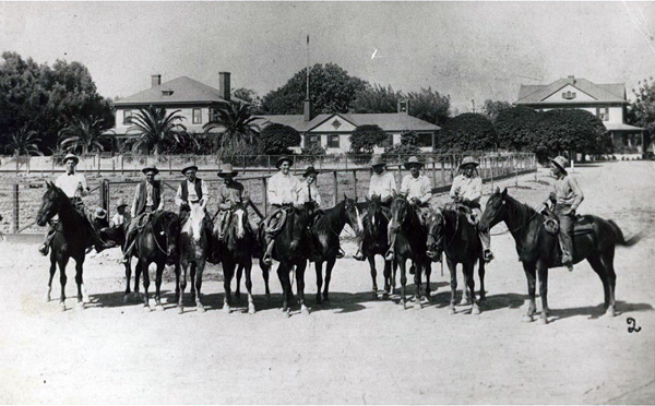 Miller and Lux buckaroos, 1907