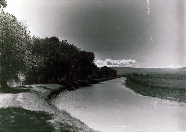 Old San Joaquín and King's River Canal, 1880s