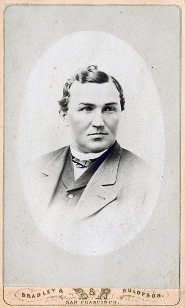 Charles Lux carte de visite, ca. 1870s