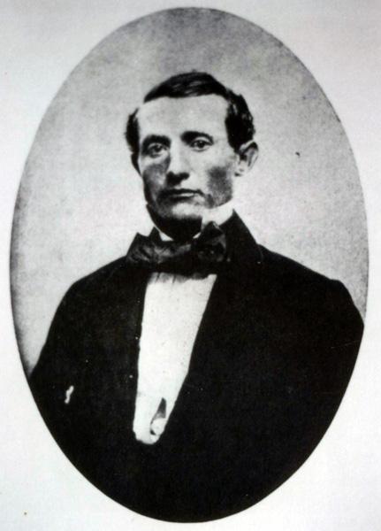 Henry Miller at about age twenty, 1847