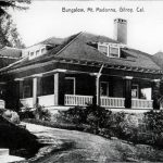 Henry Miller's bungalow at Mt. Madonna completed in 1901